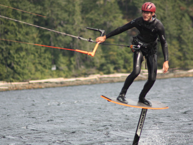 windriderfoil, bc kiteboarding