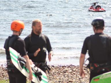 BC kiteboarding
