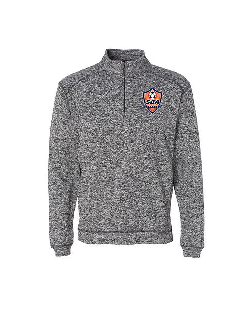 Men's-Cosmic Fleece Quarter-Zip Pullover Sweatshirt