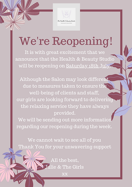 Reopening Date