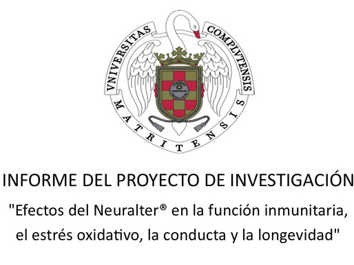 INVESTIGACIÓN CON NEURALTER SOBRE INMUNIDAD EN LA UNIVERSIDAD COMPLUTENSE DE MADRID.