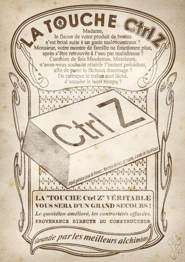 « LA TOUCHE Ctrl-Z »