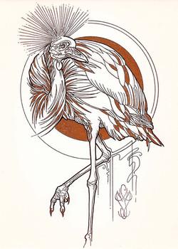 « DARK BIRD - Grue »