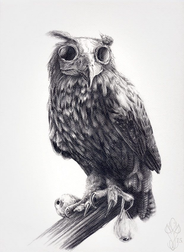 « LE GRAND DUC » Dark Bird