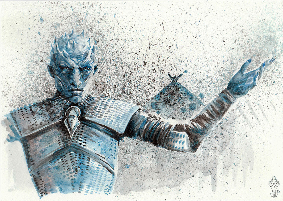 « GoT - WHITE WALKER »