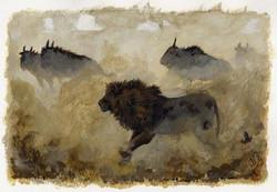 « LION CHASSANT »
