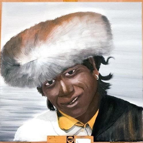Portrait d'un Tibétain