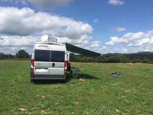L'aire de camping-car