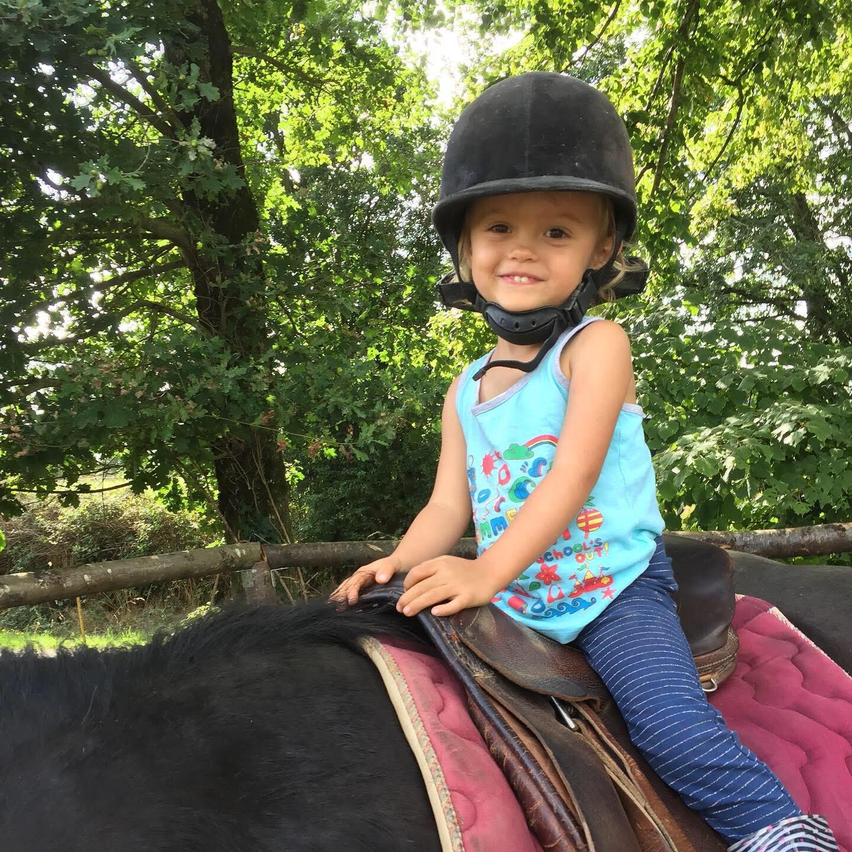 Expérience familiale à cheval