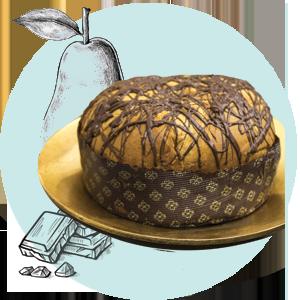 Panettone Cioccolato e Pera