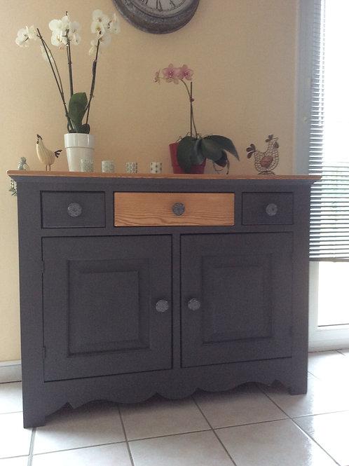 meuble 3 tiroirs en pin