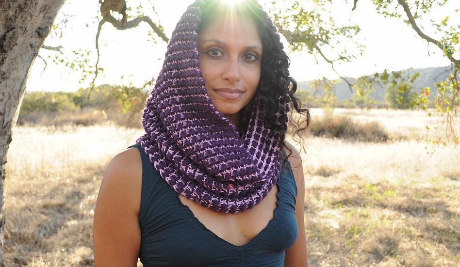 Classic Unconditional Love Hat: Purple/Lavender