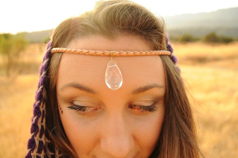 Crystal Headdress Head Jewelry by Lalimalu