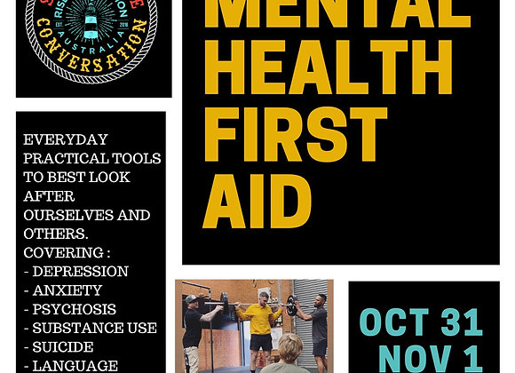 Mental Health First Aid - Coffs Harbour