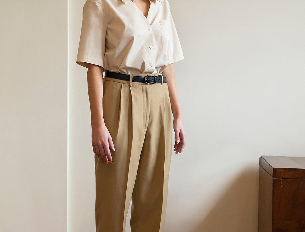 Virgin Wool Tailored Trousers