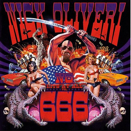 Nick Oliveri N.O. Hits At All - VOL 666 LP
