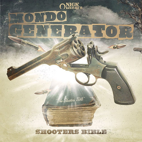 "Mondo Generator ""Shooter's Bible"" black vinyl"