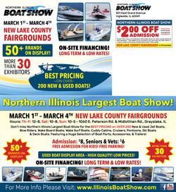 Northern Illinois Boat Show Postcard