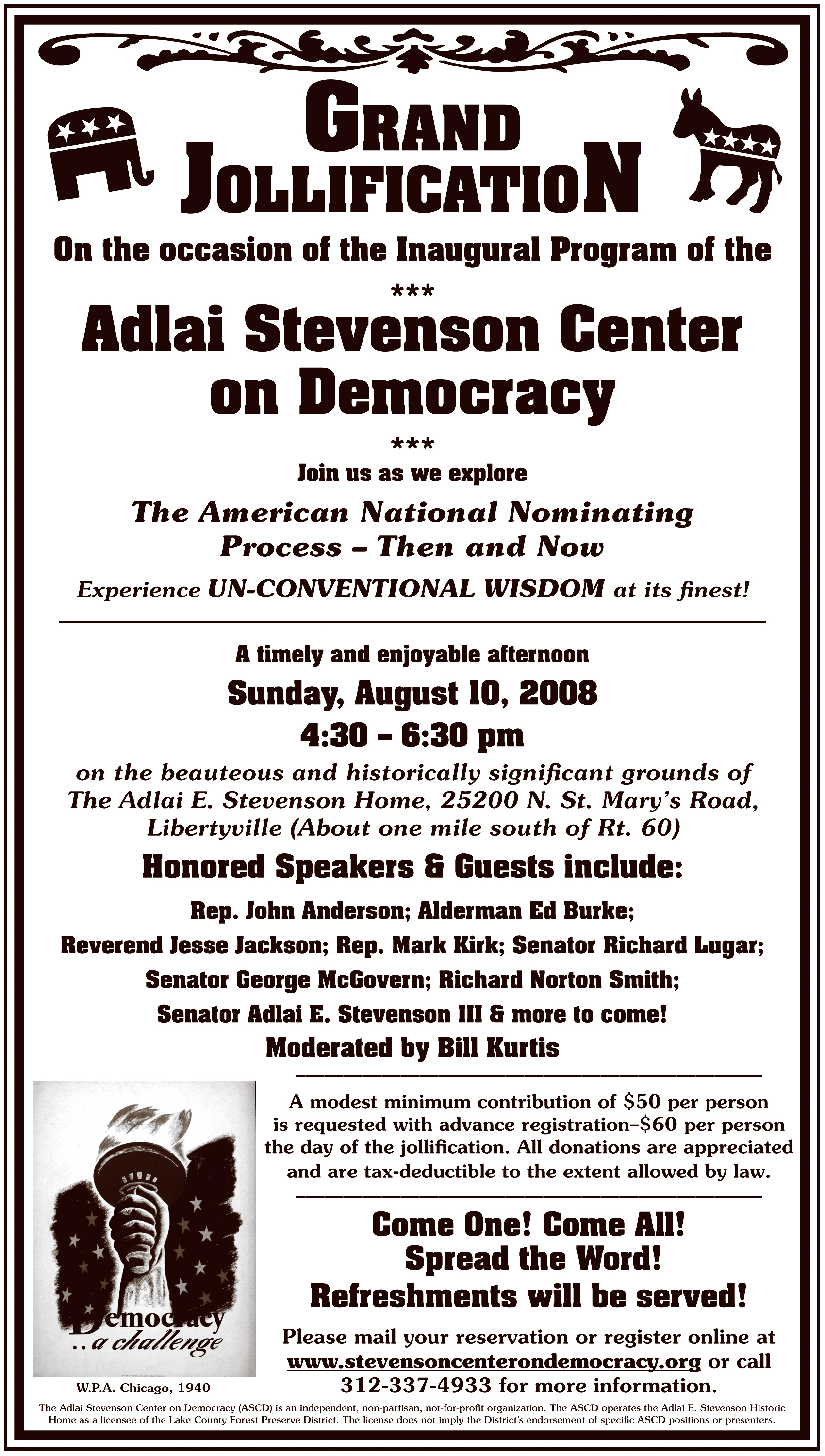 Adlai Stevenson Center on Democracy