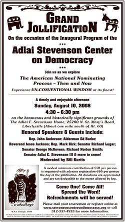 Adlai Stevenson Center on Democracy