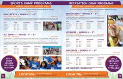 Niles Park Dist. Camp Catalog