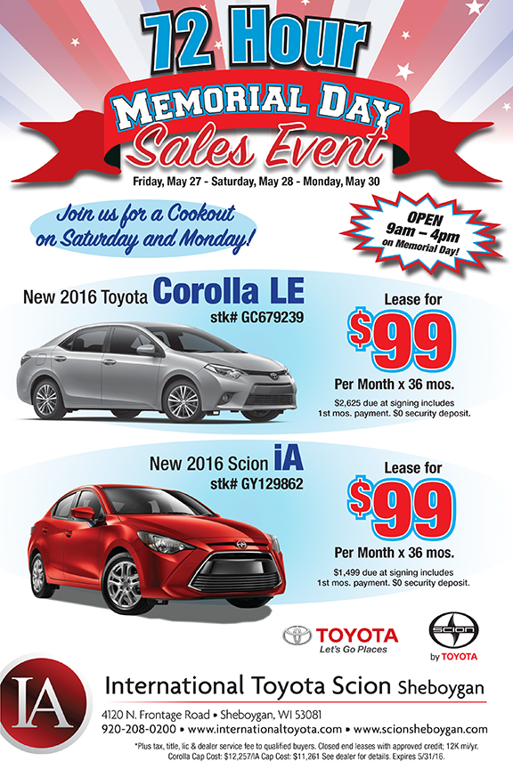 Car Dealership E-Blast Ad