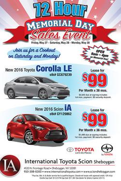 Car Dealership E-Blast Ad