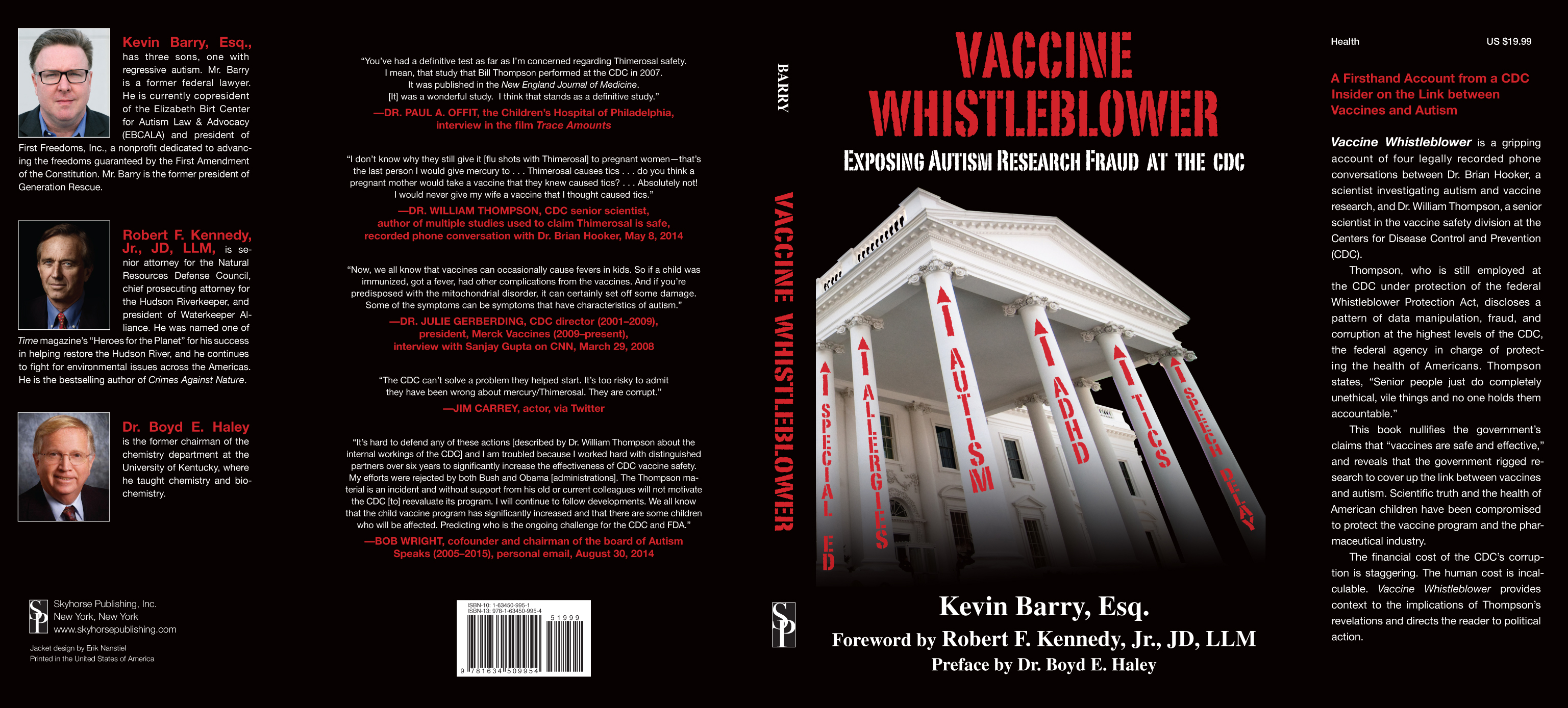 Vaccine Whistleblower dust jacket