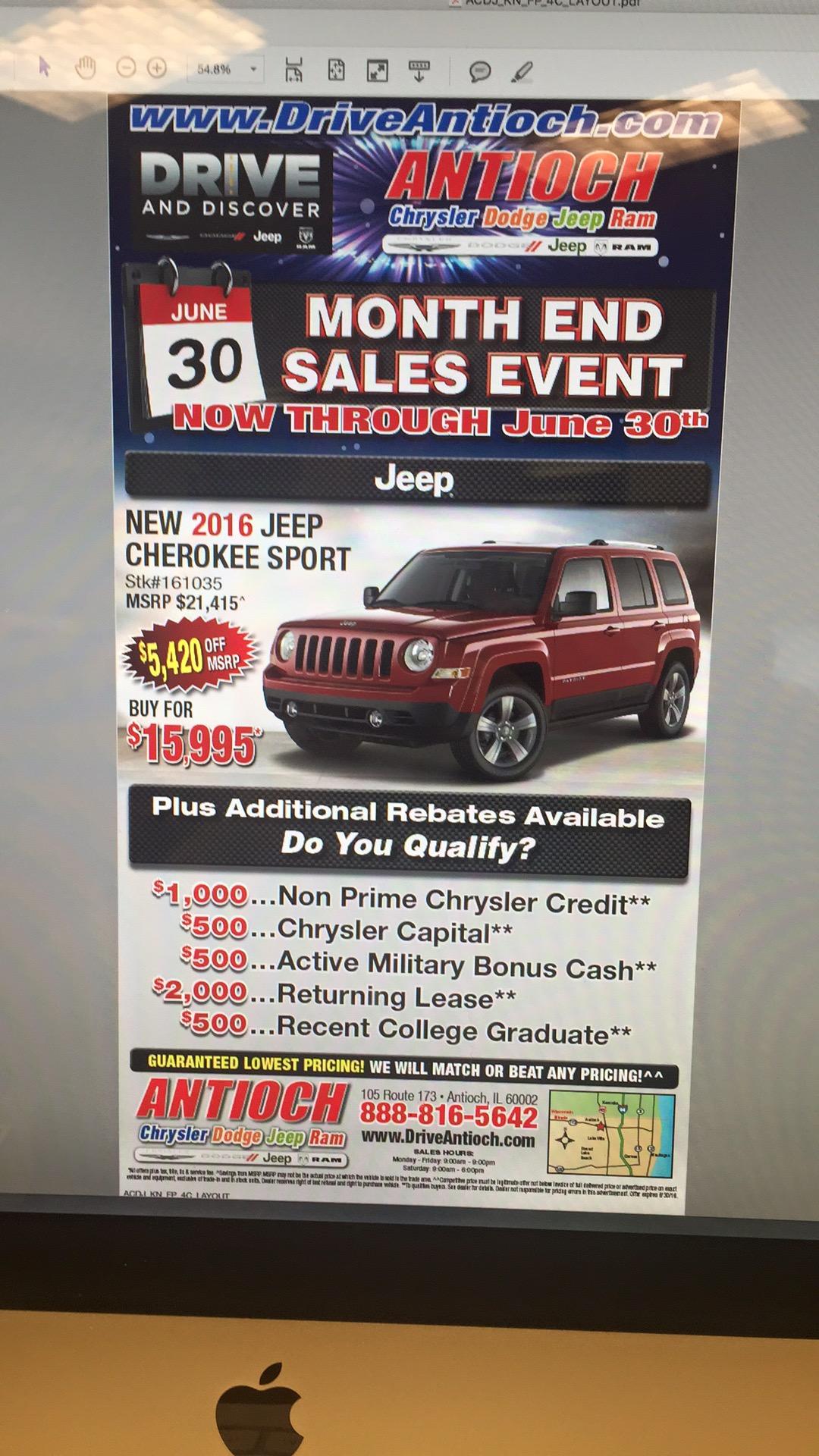 Jeep Cherokee Ad