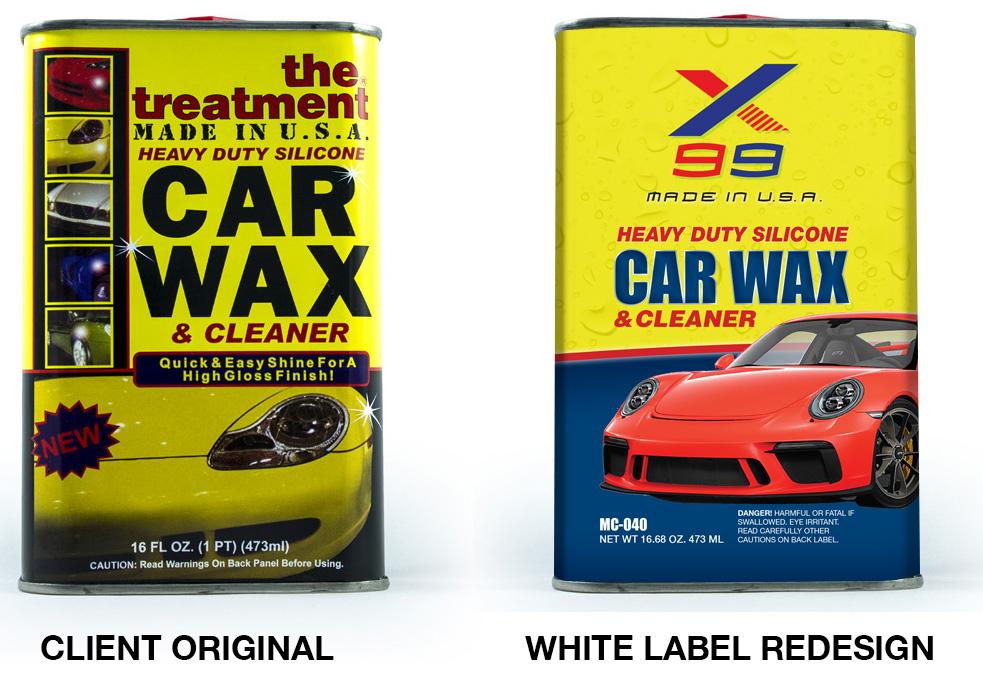 X99 Car Wax Can