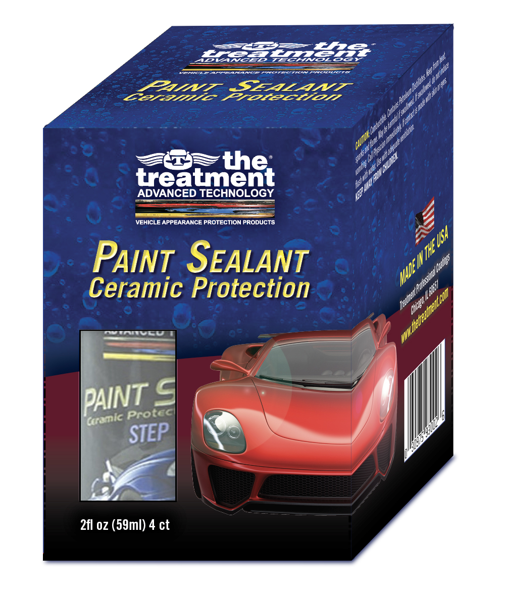 The Treatment Paint Sealant 3D rende