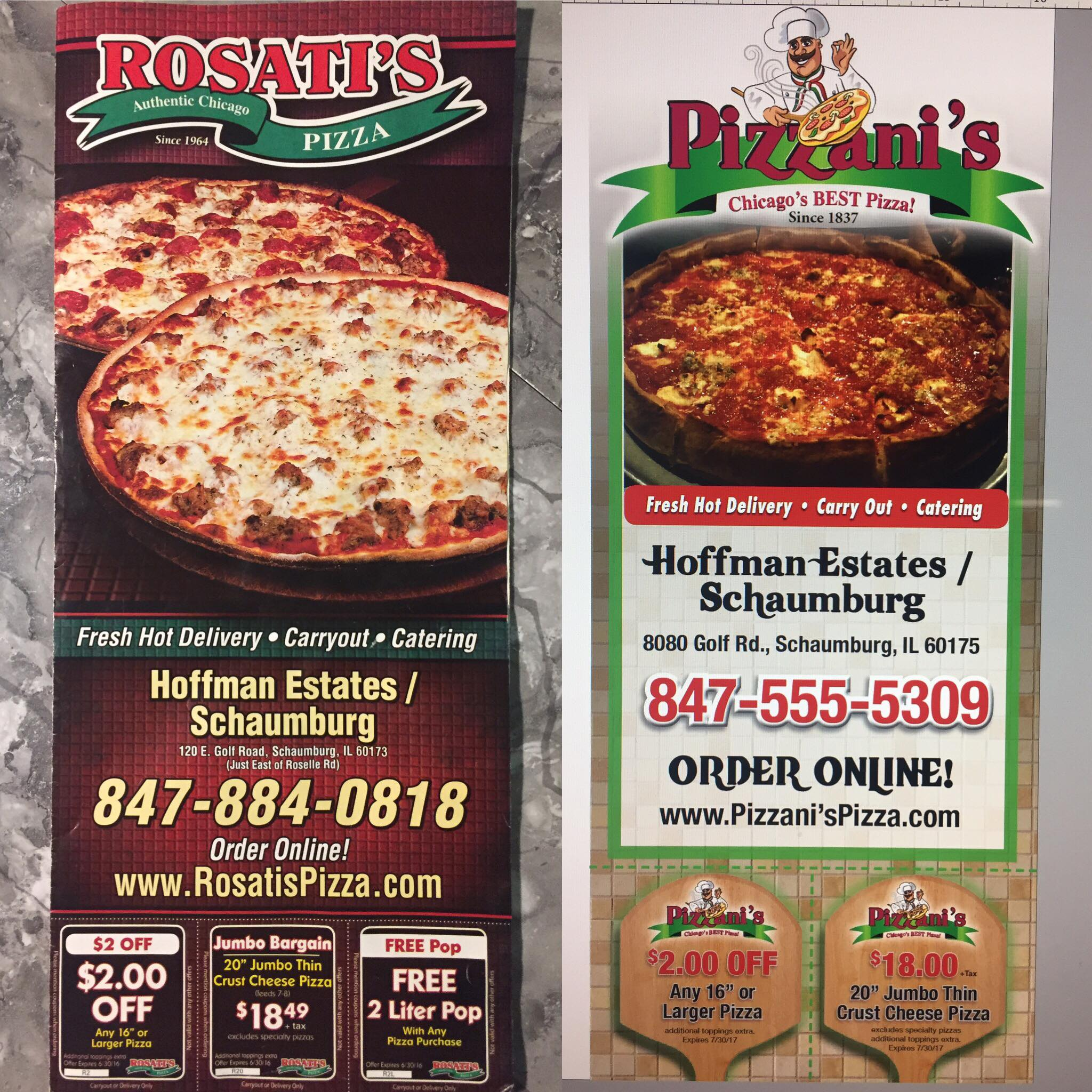 Pizza Restaurant Menu Redesign