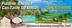 Web Banner for Energy Bars