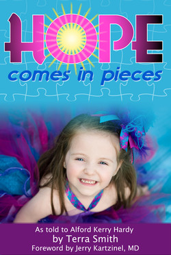 """""""Hope Comes in Pieces"""" book cover"""