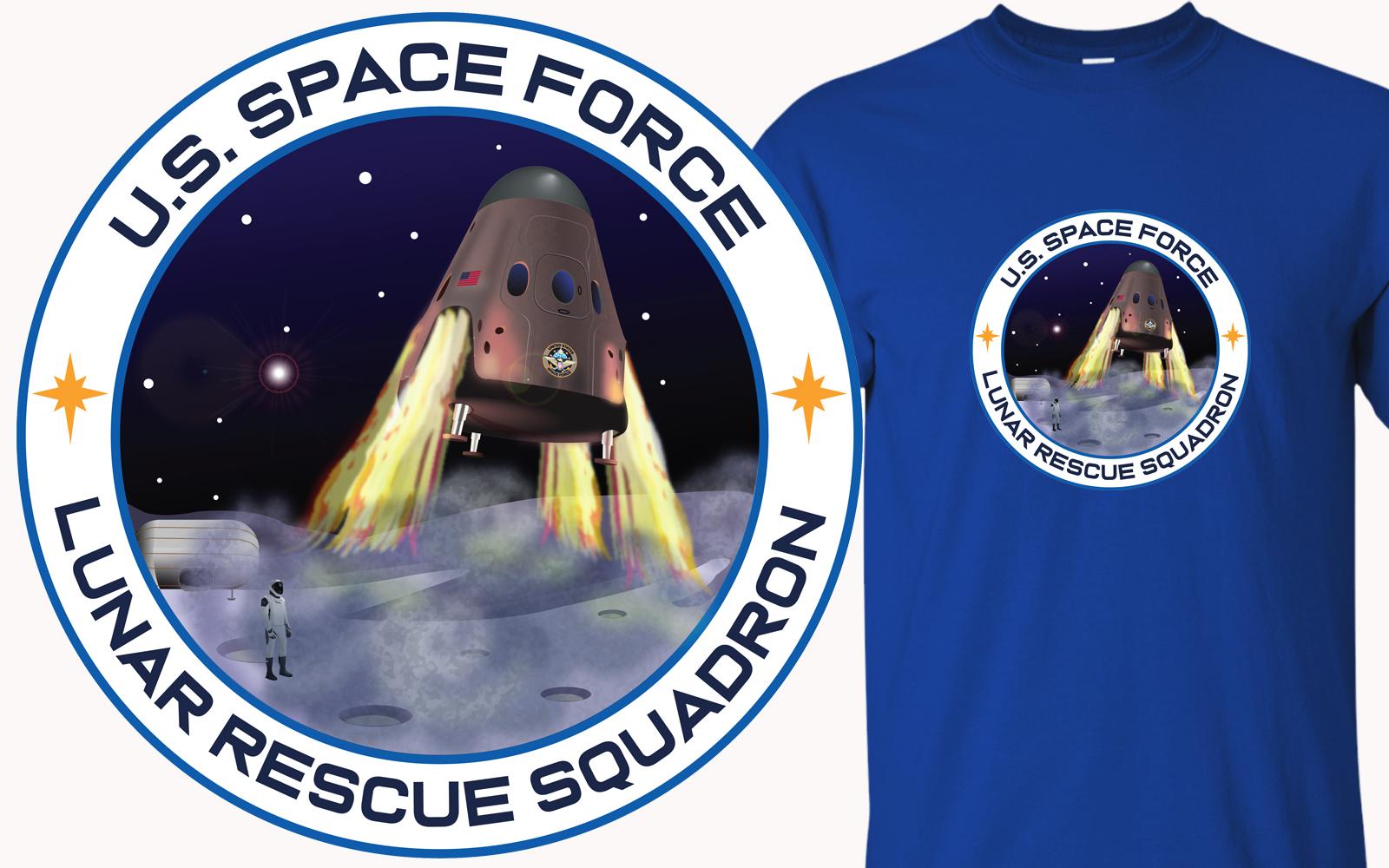 Space Force Lunar Rescue