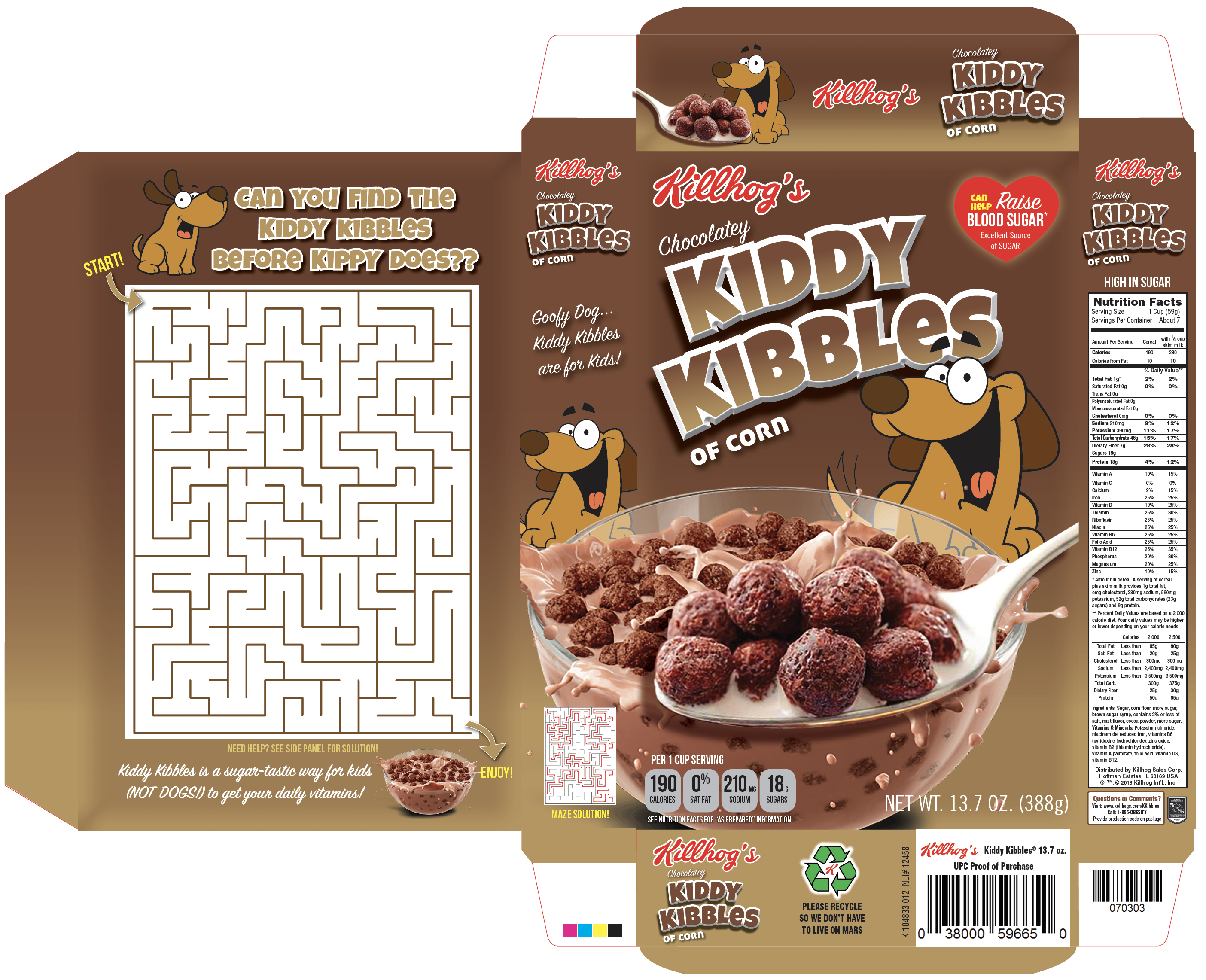 Kiddy Kibbles Box