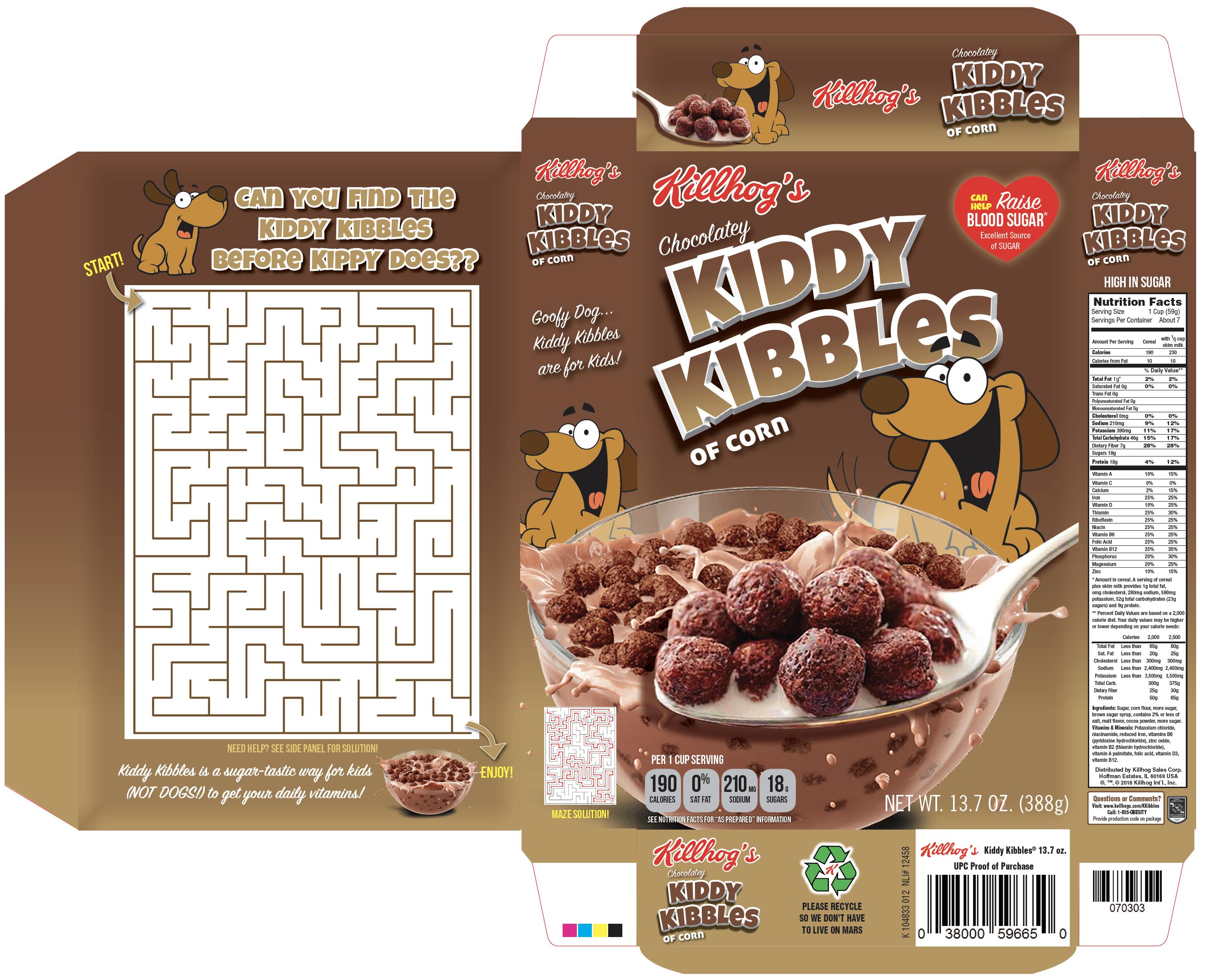 Kiddy Kibbles Box