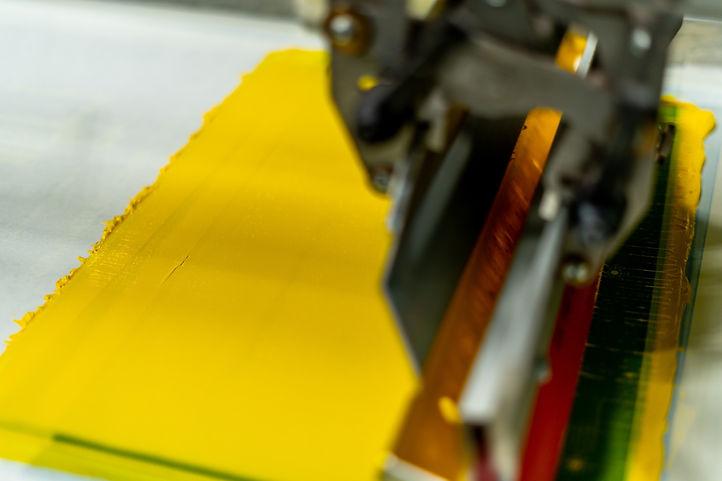 Screen Printing Ink Flood