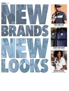 New Looks in 2021Apparel Catalog
