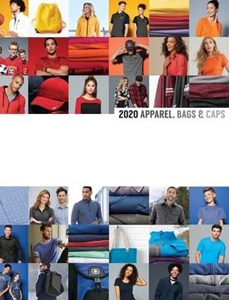 2020 Apparel Bags Caps Catalog