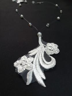 dentelles et perles
