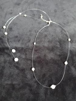 collier de dos perles