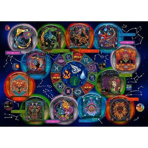 Jacarou - Zodiaque 2000 pcs