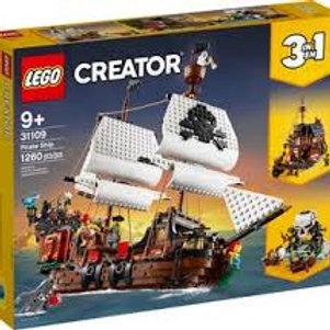 Lego Créator - Le bateau pirate