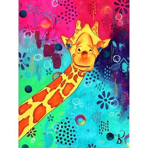 Jacarou - Sourire d'une Girafe
