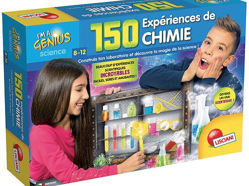 Lisciani I'm a Genius - 150 expériences de chimie (Version française)
