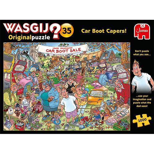JUMBO - WASGIJ ORIGINAL #35, VIDE-GRENIER 1000pcs