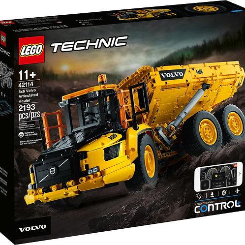 Lego Technic - Le tombereau articulé Volvo 6x6