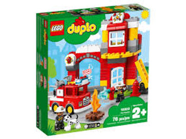 LEGO Duplo -La caserne de pompier