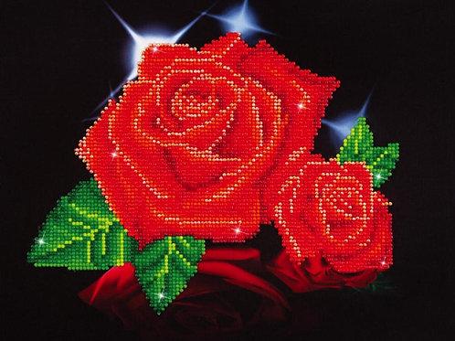 Diamond Dotz - Red Rose Sparkle